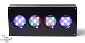 AquaIllumination Hydra LED Light for Aquarium, Black
