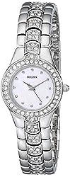 Bulova Women's 96T14 Crystal Watch