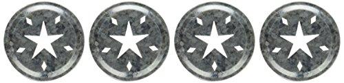 Loew-Cornell 1026307 Transform Mason Ball Lid Inserts, Star, 4-Pack (Transform Mason Ball Lid Inserts compare prices)