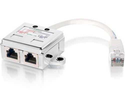 Digital Data Répartiteur RJ45 et adaptateur en Y blindé Lot de 10