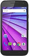 """Motorola Moto G 3ª Generación - Smartphone de 5"""" (4G, Qualcomm MSM8916, 1 GB de RAM, 8 GB de memoria interna, Android 5), color negro"""