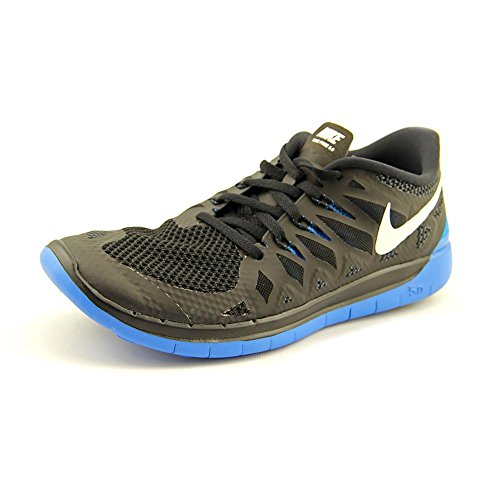 Boy's Nike 'Free 5.0' Running Shoe Black/ Anthracite/ Photo