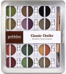 Pebbles Inc. I Kandee Chalk Set, Earth Tones