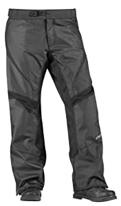 Icon Overlord Overpants Men's Textile Street Motorcycle Pants - Black / Size 32