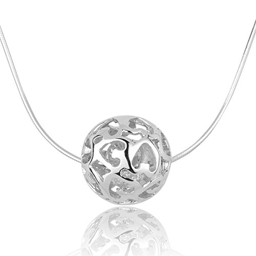 925-sterling-silver-necklaces-for-women-with-pendant-cut-beads-ball-chain-necklace-charm-jewelry