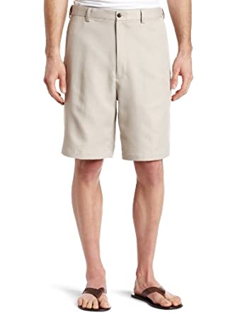 Haggar Men's Big-Tall Cool 18 Gabardine Hidden Expandable Waist Plain Front Short,String,44