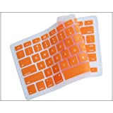 Generic Orange Keyboard Silicone Cover Skin for MacBook/MacBook Pro 13-Inch, 15-Inch, 17-Inch Aluminum Unibody (KBC-MP-Orange)
