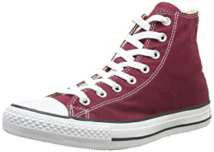 Converse Chuck Taylor All Star, Unisex-Erwachsene Hohe Sneakers, Rot (Maroon), EU 41.5 EU