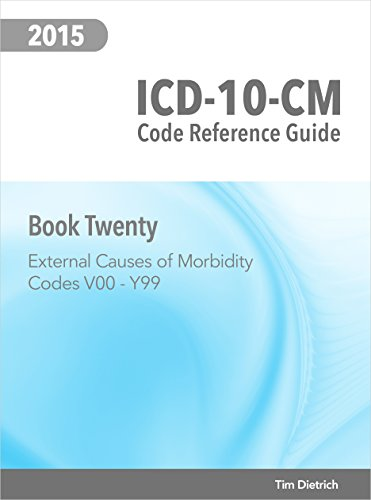 ICD-10-CM Code Reference Guide: Book 20: External Causes of Morbidity: Codes V00 Through Y99 PDF
