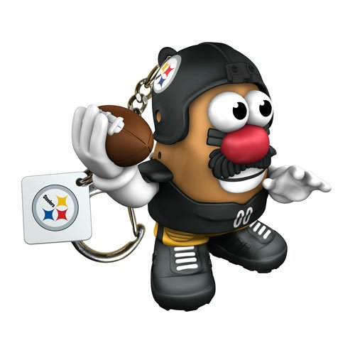 Nfl Pittsburgh Steelers Mr Potato Head Keychain front-578868