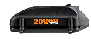 WORX WA3520 20-Volt MAX Lithium Battery for Series WG151s, WG155s, WG251s, WG255s, WG540s, WG545s, WG890, WG891