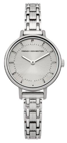 French Connection de mujer reloj de pulsera Lillie analógico de cuarzo Acero inoxidable fc1176sm