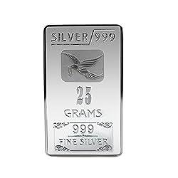 Joyalukkas BIS Hallmarked 25 grams 999 Silver Bar