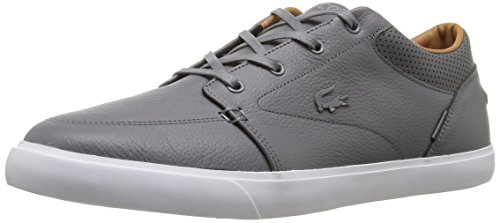 Lacoste Men's Bayliss Vulc Prm Us Spm Fashion Sneaker Fashion Sneaker, Grey, 10.5 M US