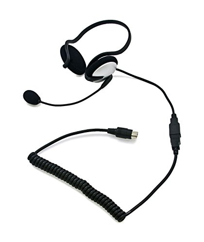 Imc Motorcom Hs-G140P 5 Pin Half Headset For Gold Wing Built-In System