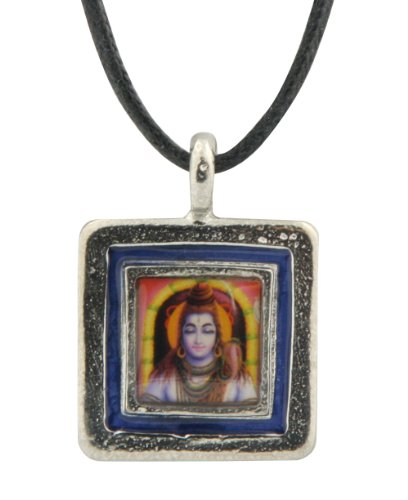 Fine Pewter Shiva Pendant