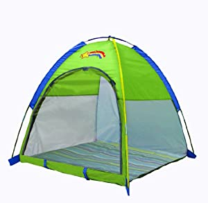 "Pacific Play Tents Baby Suite Deluxe Nursery Tent w/1.5"" Pad - Green from Pacific Play Tents"
