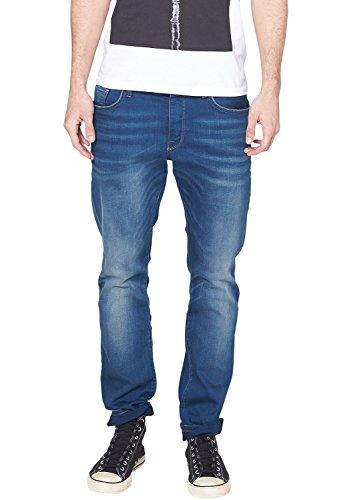 QS by s.Oliver Herren Straight Leg Jeans 40.412.71.3681, Gr. W38/L34 (Herstellergröße: 38), Blau (blue 57Z6)
