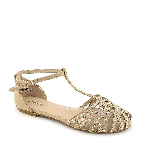 Bamboo Womens Lynna-01 Sandal bamboo womens driven 77 casual wedge