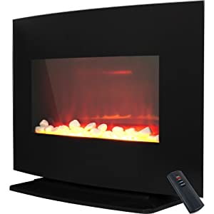 Prolectrix 80-4998 Windsor Wall Mounted Or Free Standing Electric Fireplace from Trademark Global, Inc. (HI)