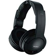 Sony Noise Reduction 150 feet Long Range Wireless Dynamic Stereo Headphones with Volume Control & Wide Comfortable Headband for All LG 42LV4400, 42LV5400, 42LV5500, 42LW, 47LD650, 47LE, 47LK, 47LV5400, 47LV5500 LCD HDTV Flat Screen Television