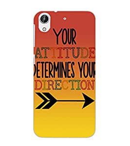 HTC DESIRE 626 + ATTITUDE Back Cover by PRINTSWAG