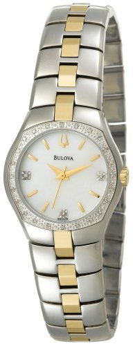 Bulova Women's 98R008 Diamond Case Watch
