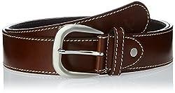 Allen Solly Men's Leather Belt (ASBLTCRE515005_Brown) (8907308120732)