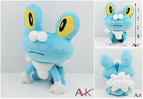 [Rosy Women Xy Series Froakie Plush Doll Toy 6.5