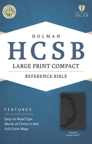 Large Print Compact Reference Bible-HCSB