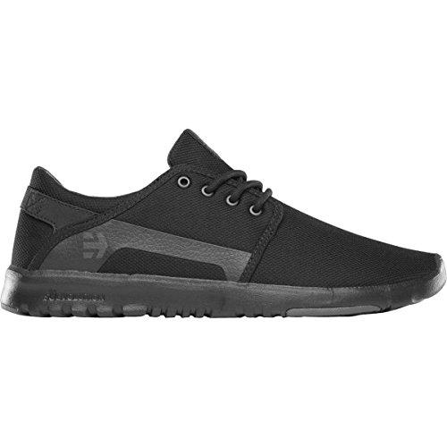Etnies Men's Scout Skateboarding Shoe, Black/Grey/Black, 9 M US