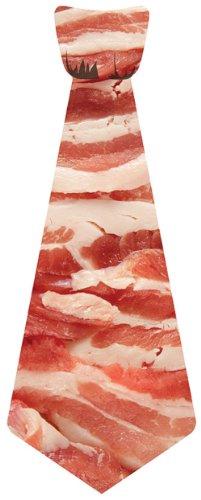 Big Guy Bacon Sticky Reusable Tie