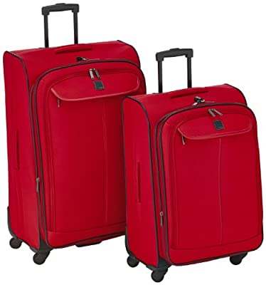 Titan 360 Four Global 34310501-09 Wheelie Suitcase Set of 2 Red 192 L from Titan