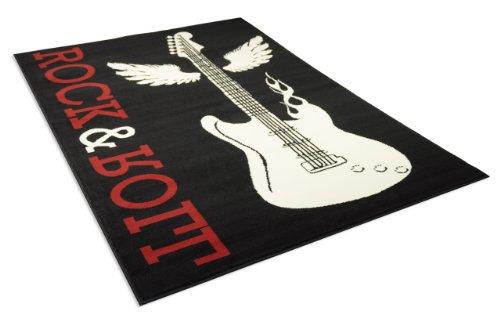 debonsol-tapis-salon-rock-roll-guitare-noir-universol