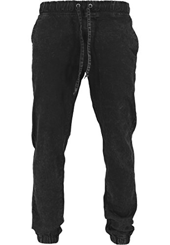 Urban Classics TB1147 Stretch Denim Jogging Pants Pantalone Uomo Color black washed Size L