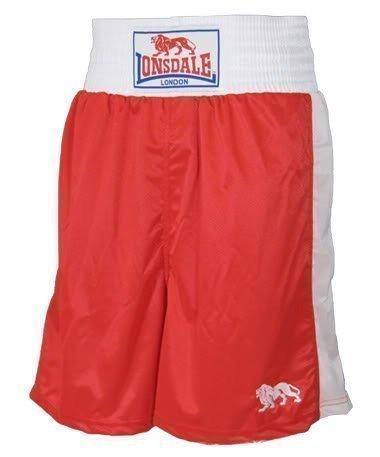 Lonsdale London Uomo Pantaloni Boxer - rosso, M
