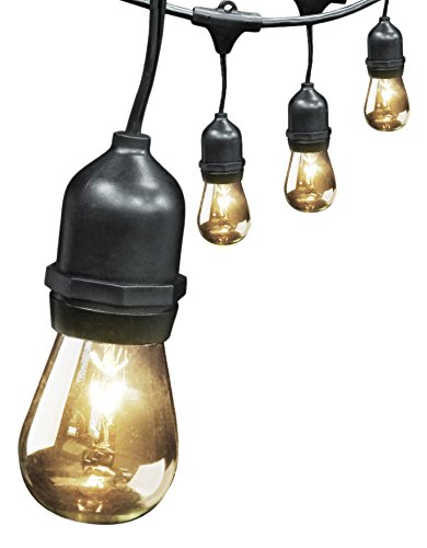 Feit Electric 72041 30? 10-Socket, 15 Bulbs, Outdoor String Light Set Landscape & Lighting
