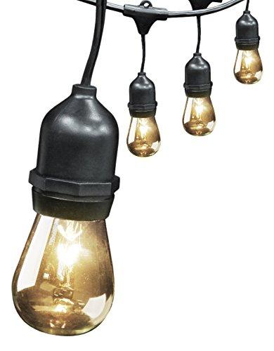 Feit String Lights Ideas : Feit Electric 72041 30? 10-Socket, 15 Bulbs, Outdoor String Light Set Landscape & Lighting