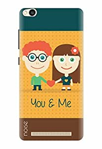 Noise Designer Printed Case / Cover for Xiaomi Redmi 3S / Animated Cartoons / You And Me Design