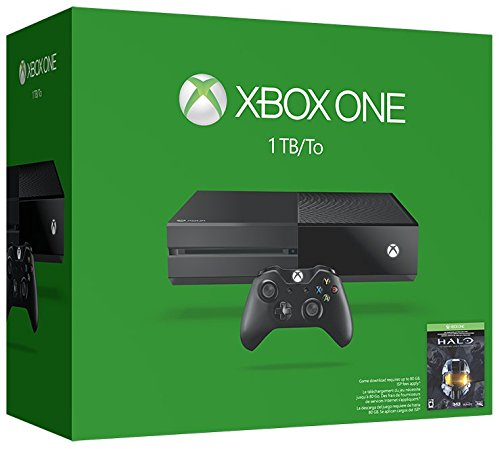 Xbox One 1TB Console – Halo: The Master Chief Collection Bundle