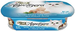 Fancy Feast Appetizers for Cats, Tender Tongol Tuna, 2-Ounce Tubs (Pack of 10)