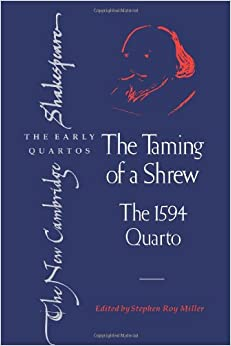 a comparison of the similarities and differences between the taming of the shrew by william shakespe We will first look at the taming of the shrew starring elizabeth taylor and  richard burton the movie starts with lucentio getting ready to go to the  university in padua, when  musical version of william shakespeare's the  taming of the shrew  there are several difference between them however, for  one they were all.