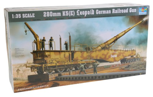 Trumpeter 1/35 German Railway Gun K5(E) Leopold (Trumpeter 1 35 Rail compare prices)