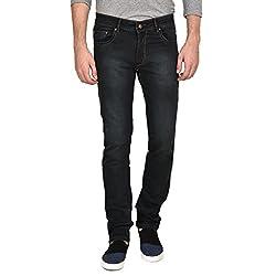 Ruace men's Regular fit blue jeans