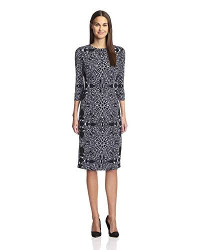 London Times Women's Printed Shift Dress