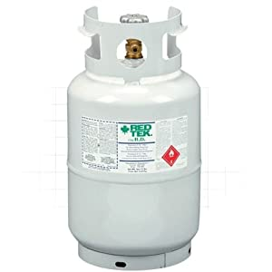 RED TEK R-12a Refrigerant 12 Lb Cylinder (36 Lb Equiv) from Thermofluid Technologies