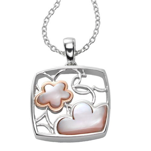 Ze Sterling Silver Mother of Pearl Pendant