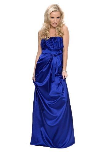 Astrapahl, Evening dress, cocktail dress, bride, wedding, color navy blue