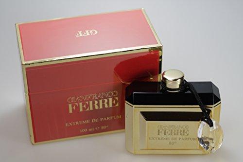 Gianfranco Ferre 100 ml Extreme de di profumo opaco Splash edizione limitata!