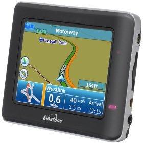 Binatone X350 - KFZ-Komplett-Set GPS Navigationssystem
